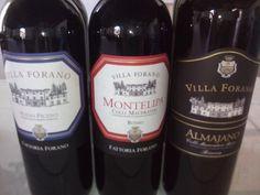I Vini Rossi Villa Forano www.fattoriaforano.it