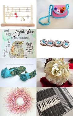 Music to My Ears, Spring is almost here! by Cindy Winfrey and Cheryl Dore on Etsy--Pinned with TreasuryPin.com