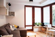 Salon styl Skandynawski - zdjęcie od MIKU grafika & wnętrza - Salon - Styl Skandynawski - MIKU grafika & wnętrza