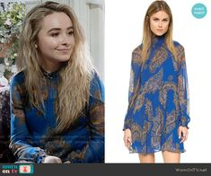 Free People Forget Me Not Moonstruck Mini Dress worn by Sabrina Carpenter on Girl Meets World Fashion Tv, Fashion Beauty, Fashion Outfits, Girl Meets World, Dresses For Sale, Nice Dresses, Short Dresses, Sabrina Carpenter Outfits, Tv Show Outfits