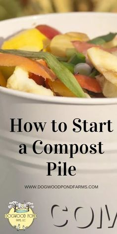 Compost is easy to make. Find out what you should put in your compost and what to avoid. Learn easy methods for making compost. This is a great way to naturally fertilize your soil. Great for large gardens, square foot gardens, raised bed gardens, and Garden Compost, Garden Pests, Permaculture Garden, Herbs Garden, Garden Fertilizers, Organic Vegetables, Growing Vegetables, Growing Tomatoes, Organic Fruit