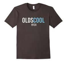 Oldscool 1931 86th Birthday Gift For 86 Year Old T-Shirt