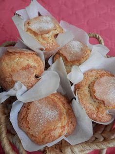 """""""The Best Muffins I have ever ate"""" Pan Dulce, Fondant Cakes, Cupcake Cakes, Muffins, Mexican Bread, Sweet Cooking, Sweet Little Things, Dessert Recipes, Desserts"""