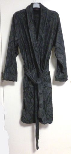 men s m s collection luxury dressing gown charcoal SIZE XL BRAND NEW CR180  CC 08  fashion  clothing  shoes  accessories  mensclothing  sleepwearrobes  (ebay ... d69e61ea1
