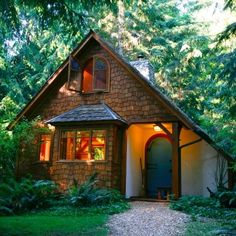 """""""Willow"""" Cottage at Hedgebrook Writers Retreat on Whidbey Island, Washington"""