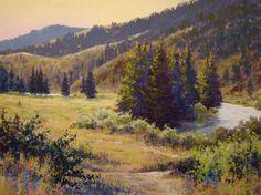 Clark G. Mitchell - Pastels