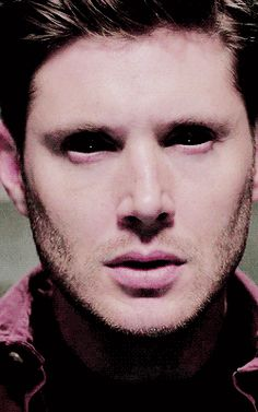 10x03 Soul Survivor [gif] - link includes 9x23 comparison of getting demon eyes and now losing them - Dean Winchester; Supernatural - hard to get a screen shot of both.