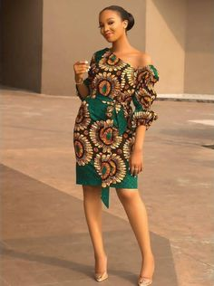 African Ankara Short Dresses: Classy Styles to Rock - Beta Protocol Short African Dresses, Ankara Short Gown Styles, Short Gowns, African Print Dresses, African Prints, African Fabric, African Fashion Ankara, Latest African Fashion Dresses, African Print Fashion
