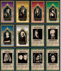 Harry Potter Cluedo, Harry Potter Books, Harry Potter Characters, Harry Potter Memes, Harry Potter Bookmark, Harry Potter Scarf, Imprimibles Harry Potter, Classe Harry Potter, Anniversaire Harry Potter