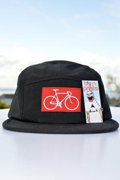 Cap / Basecap mit Fahrrad. Auf Etsy.