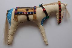 Native American Indian horse doll primitive by MokiTradingPost, £22.50