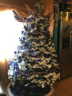 dallas cowboys christmas tree 2015