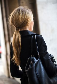 1. Fashionising 2. Harpers Bazaar Love a good wrapped ponytail. Its classic, easy to do and...