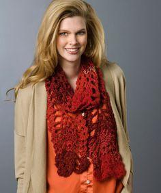 Lacy Pineapple Crochet Scarf Crochet Pattern