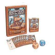 Egyptian Rat Screw Card Game Ages 8+ Family Fun Slap Cards Game NEW #FrontPorchClassics