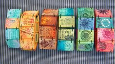 stamping chalk in polymer clay