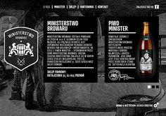 Minister Beer Website