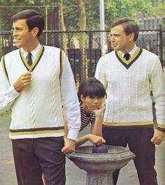 1960s mens vest -