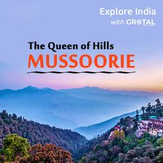 Nestled in the foothills of the #GarhwalHimalayan ⛺️ ranges, Mussoorie is quite a scene in monsoon. The drive from #Dehradun to #Mussoorie itself is breathtaking, add to that the undulating hills of Mussoorie and the spectacular view of the #Himalayas 🏔, you've for yourself a holiday of perfectly quiet ambience. Mussoorie, Dehradun, Ranges, Monsoon, Scene, Ads, India, Explore, Reading