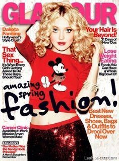 Dakota Fanning deslumbra con la portada de la revista Glamour - http://www.leanoticias.com/2013/01/30/dakota-fanning-deslumbra-con-la-portada-de-la-revista-glamour/