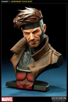 Sideshow Collectibles - Gambit Legendary Scale Bust
