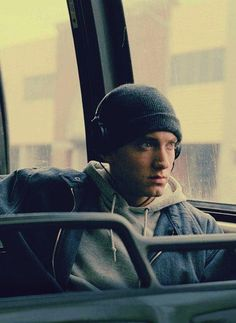 Eminem..really did start from the bottom. Never once tried to hid it. Nothing was ever handed to him, he worked hard to be where he is today. #madrespect
