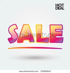 Sale banner. Marketing banner concept. Shopping card vector illustration. Advertising background.