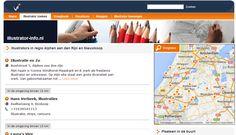 hier kan je makkelijk illustrators vinden in jouw regio http://www.illustrator-info.nl