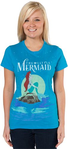Little Mermaid Shirt..... flappin ur fins u dont get to far
