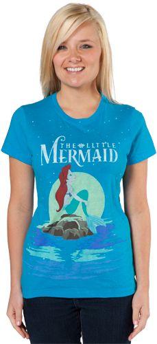 Little Mermaid Shirt..... flappin ur fins u dont get to far