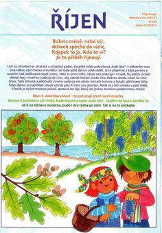 říjen Autumn Activities For Kids, Fall Crafts For Kids, Autumn Crafts, Art For Kids, Aa School, School Clubs, Seasons Of The Year, Four Seasons, Weather For Kids