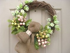 Spring Wreath Spring Wreath with Hops Rose Hips by AWorkofHeartSA, $80.00