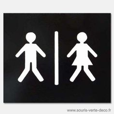Plaque de porte de toilettes bonhommes pressés... Peinte à main et vernie, personnalisable. Dimensions : hauteur 17 cm, largeur 20 cm, épaisseur 6 mm. http://www.souris-verte-deco.fr/Boutique/plaques-de-portes-decoration-maison/80-plaque-de-porte-de-toilettes-bonhommes-presses.html