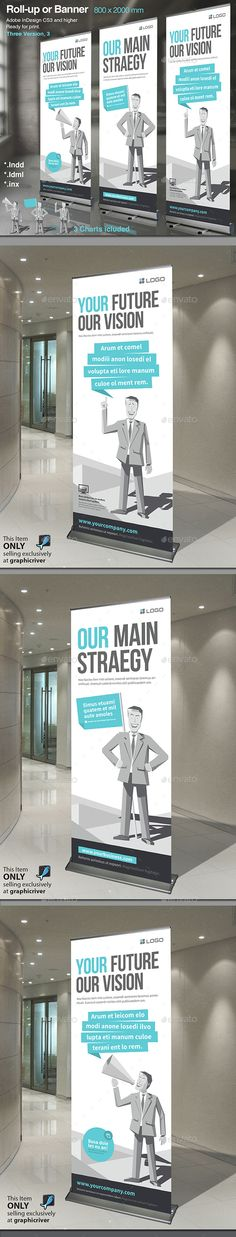 Corporate Roll-up or Banner Vol. 6