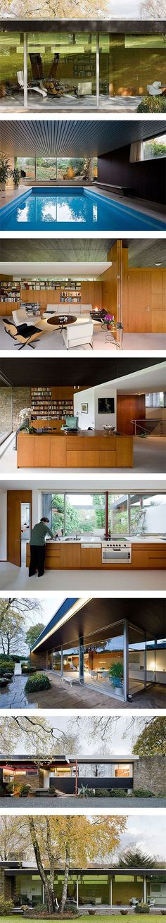 Pescher House by Richard Neutra via Nuji.com