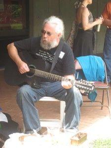 Michael Bush Plays Guitar