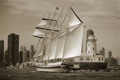 Chicago Tall Ships     |     Aaron Chang     |     Fine Art Photography