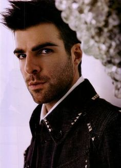 zachary quinto - in love with him! from spock to sylar, he's earned his spot on my list <3