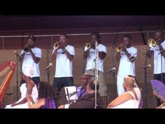 Hypnotic Brass & Phil Cohran @ Millennium Park Chicago 6/20/16