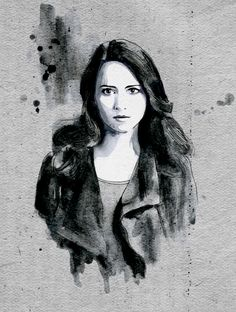 Root. Person of Interest. —- black pen, copic... - helene draws.