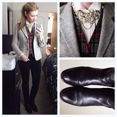 Preppy Outfits, Casual Fall Outfits, Preppy Style, Classy Outfits, Her Style, Office Outfits, Autumn Winter Fashion, Winter Style, Fall Fashion