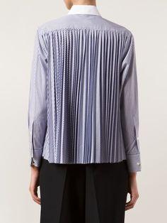 Sacai Luck Pleated Back Shirt - Donne Concept Store - Farfetch.com