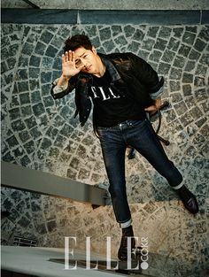 Song Joong Ki in ELLE October 2015