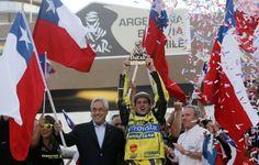 Ignacio Casale, ganador del Dakar 2014 categoría Quads