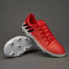buy popular f4e99 bf893 adidas Messi 16.1 FG - Red Core Black White