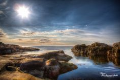 HDR picture of the norwegian coast.