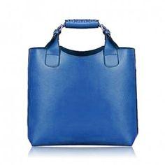 Hebilla Vintage y bolso de cuero del color sólido mujeres del diseño Bolsos  De Cuero 423f11c876b21