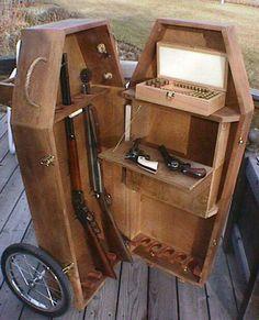 Coffin gun safe