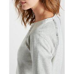 Damen-Sweatshirt mit Fransendetails CYRILLUS Damen Sweatshirts, Turtle Neck, Sweaters, Style, Fashion, Fashion Styles, Swag, Moda, Stylus