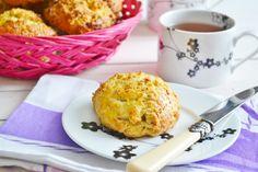 Angielskie bułeczki scones z truskawkowymi otrębami!